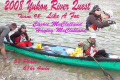 2008 Yukon River Quest Team Posters